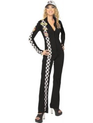 Rubie's Costume NLP Black Racer Costume, Small