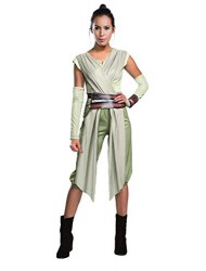 Star Wars: The Force Awakens Deluxe Adult Rey Costume, Large