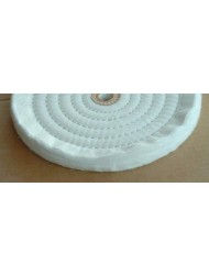 "8"" X 5/8"" Ply Soft Cotton Buffing Wheel (1 unit)"