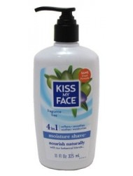 Kiss My Face Moisture Shave, Fragrance Free, 11 oz