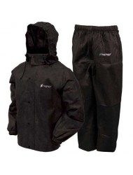 Frogg Toggs Men's All Sports Rain and Wind Suit, Black, XX-Large