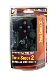 Hydra Performance® Wireless Controller 2.4G Black - Sony Playstation 2 PS2