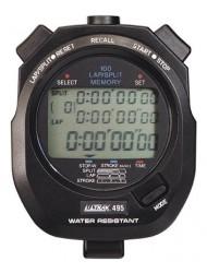 Ultrak 100 Lap Memory Timer, Yellow