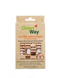 GreenWay Clothes Moth Trap - 2 Pack