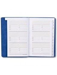 Plan Ahead Small Address Book, Smooth Cover, Assorted Colors