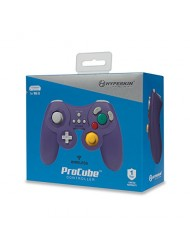 Hyperkin ProCube Wireless Controller (Purple) - Compatible with Nintendo Wii U