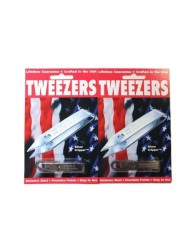 2 Pack Uncle Bills Sliver Gripper Precision Tweezers