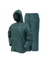 frogg toggs Men's Ultra-Lite2 Suit, Forest Green, M