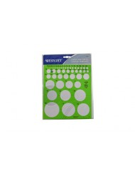 Darice Westcott LetterCraft  Large and Small Circles Template (T-831)