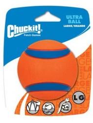 Chuck It Ultra Ball, Large/Grande, Orange color