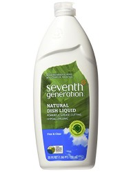 Seventh Generation Dish Liquid - 25 oz - Free & Clear - 2 pk