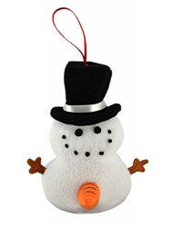 Tekky Toys-Naughty Dirty Talking Snowman Christmas Tree Ornament and Gag Gift