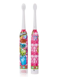 Brush Buddies Shopkins Sonic Powered Toothbrush, 0.15 Pound (2 Pack)