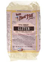 Bobs Red Mill Flour Gluten.