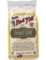 Bob's Red Mill Organic Coconut Flour, 16 oz.