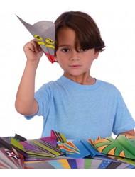 Kangaroo's Paper Airplane Kit; 72 Paper Airplanes