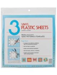 """Quilter's Plastic Template 12x12"""" 3/Pkg"""