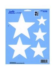 Darice Plaid Simply Stencil, 28825 Star Template