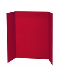 Pacon Corporation PAC3770 Red Presentation Brd 48X36