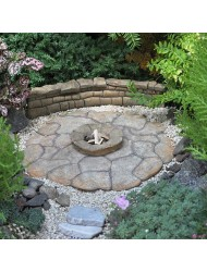 Miniature Fairy Garden Patio Pad, Fire Pit