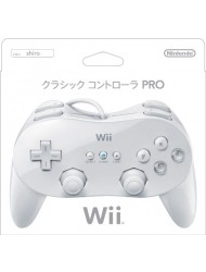 Wii Classic Controller Pro - White (Japanese Version)