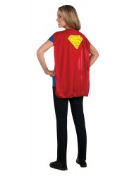 Dc Comics Super-Girl T-Shirt With Cape - Small