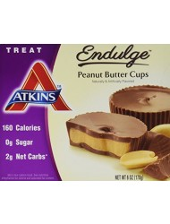 Atkins Endulge Peanut Butter Cup, 5 Count, 1.2 Ounce Each