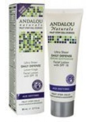 Andalou Naturals Daily Defense with SPF 18 Age-Defying Facial Lotion -- 2.7 fl oz