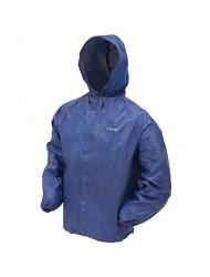 Frogg Toggs Men's Ultra Lite Rain Jacket, Blue, Medium