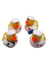 12 Nurse Rubber Ducks.