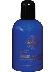 Mehron Liquid Face Paints - Blue BL (4.5 oz)