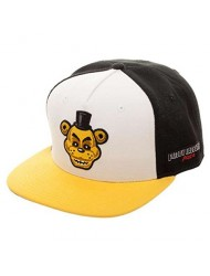 Five Nights Golden Freddy Snap Back Hat Cap (OS, Black)