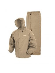 Frogg Toggs Pro Lite Rain Suit, Small/Medium, Khaki