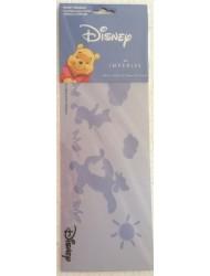 "Disney's WINNIE THE POOH Paint Stencil POOH, PIGLET, & TIGGER Wall Decoration (12 1/4"" Wide)"