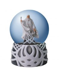 Westland Giftware Light-Up Water Globe Figurine, 100mm, Lord of The Rings Gandalf
