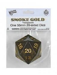 D20 55mm Smoke w/Gold