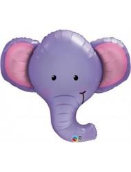 "Ellie The Elephant 39"" Qualatex Foil Balloon"