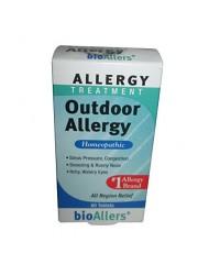 Bioallers Outdoor Allergy, 60-Count (Pack of 2)