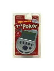 Mega Screen 7 in 1 Poker