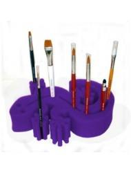 Ruby Red Paint, Inc. - Gecko Sponge Brush Holder - Purple