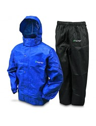 Frogg Toggs AS1310-1123X All Sports Rain & Wind Suit, Royal Blue/Black