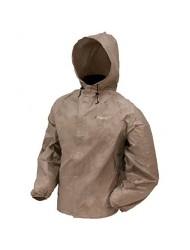 Frogg Toggs Men's Ultra Lite Rain Jacket, Khaki, XX-Large