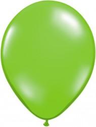 "Qualatex 11"" Lime Green Jewel Tone Latex Balloons"
