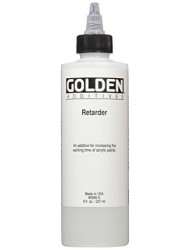 Golden 8 oz Artist Colors Acrylic Retarder Additive, Medium