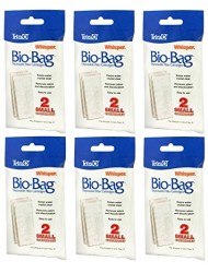Tetra Whisper Assembled Bio-Bag Filter Cartridges Small - 12 Total Filters (6 Packs with 2 Filters per Pack)