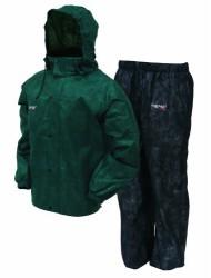 Frogg Toggs AS1310-109XL All Sport Rain Suit, XL, Green/Black