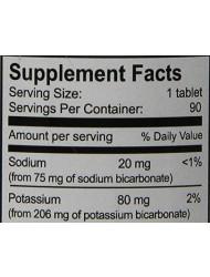 Alkalife Bicarb-Balance PH Booster Tablets, 90 Count