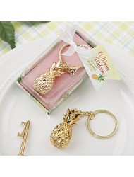 Fashioncraft 8974 Gold Pineapple Themed Key Chain