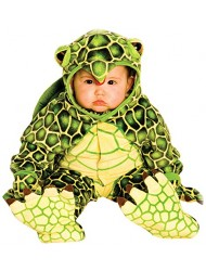 Underwraps Costumes Baby's Turtle Costume Jumpsuit, Green/ Yellow, Large (2T-4T)