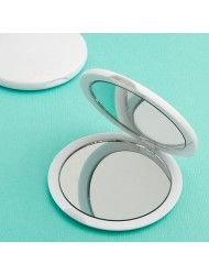 Perfectly Plain Collection Mirror Compact Favors, 1